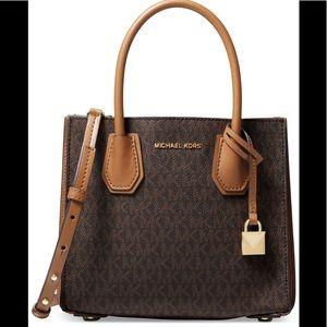 NWOT Beautiful brown/gold Michael Kors bag
